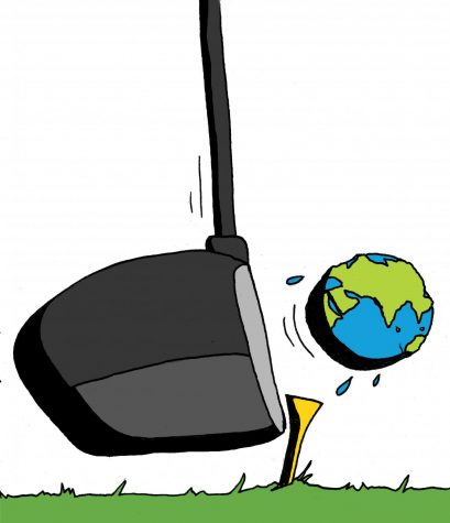 Leave golf to the rich white man, save the planet instead
