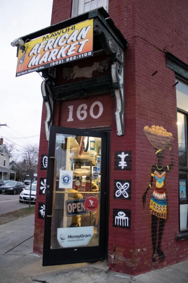 The outside of Mawuhi African Market located 160 N Winooski Ave.