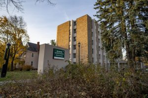 Jeanne Mance became UVM's designated quarantine and isolation building for students at the beginning of the semester. Located on Pearl Street, the residence hall is surrounded by other UVM buildings and Burlington homes.
