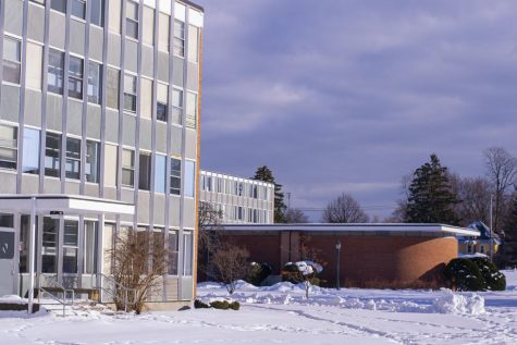 Mery Hall, a residential building on Trinity campus is where quarantining students are being moved.