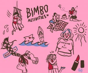 I'm a bimbo and I'm proud