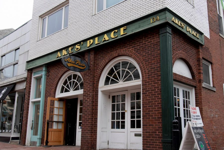 Akes' Place sits on Church street March 25.