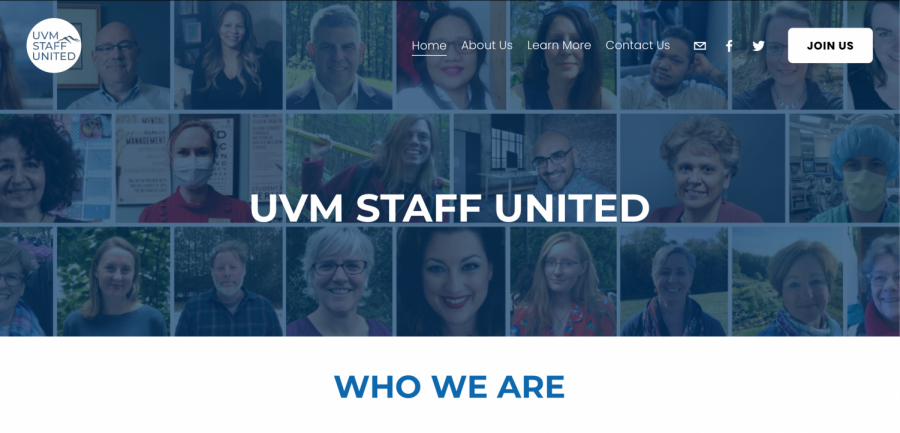 UVM staff united organizes to bargain wages, benefits and working conditions as well as equity, transparency, justice and respect at UVM according to their website.