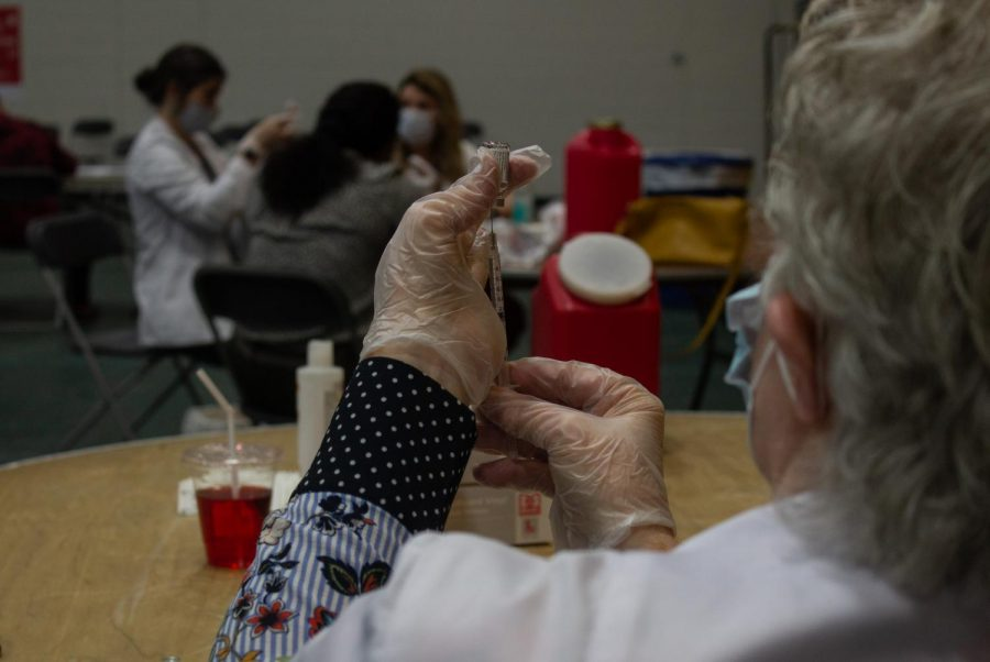 600 doses of the Johnson and Johnson vaccine were made available to UVM students and the public May 2.