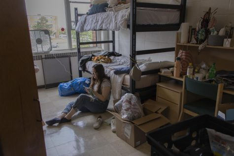An on campus move-in day in photos