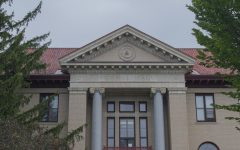 Morrill Hall is located at the corner of Main Street and University Place.