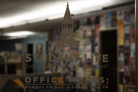 The Student Life office, located on the third floor of the Davis Center, sits empty at 4:30 p.m. on Oct. 1.