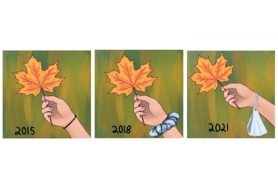 Artistic interpretations of Vermont fall