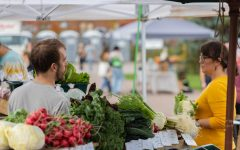 The Burlington Farmer's Market occurs every Saturday 9 a.m. to 2 p.m. from early May until the end of October.