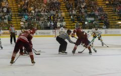 UVM men's hockey faced off against Colgate on Oct. 8 and 9.